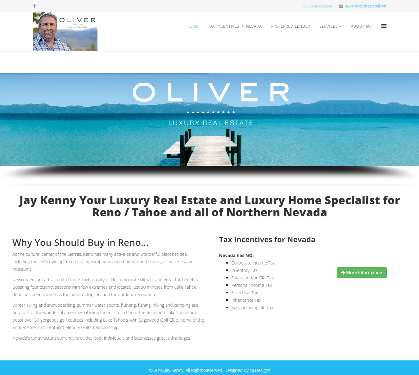 Jay Kenny, Oliver Luxury Real Estate
